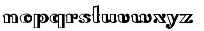 Lexington Handtooled Font LOWERCASE