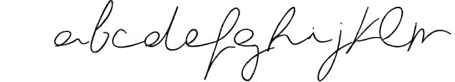 Le Kilimanjaro - A Signature Script Font LOWERCASE