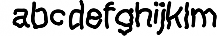 Lefthand Kids Font LOWERCASE