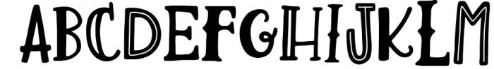 Lemon Slice Font Trio 1 Font UPPERCASE