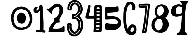 Lemon Slice Font Trio 2 Font OTHER CHARS