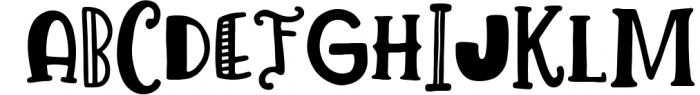 Lemon Slice Font Trio 2 Font UPPERCASE
