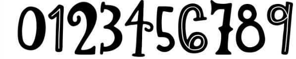 Lemon Slice Font Trio Font OTHER CHARS