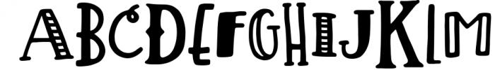 Lemon Slice Font Trio Font UPPERCASE
