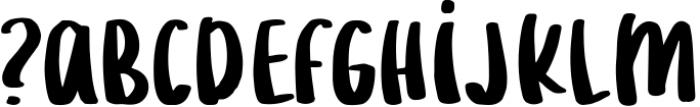 Lemonilla Short Font LOWERCASE