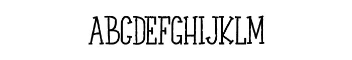 LE PRINCE SUR LE MOUTON Font UPPERCASE