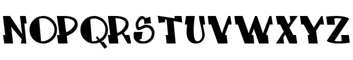 LEADvilleASTROnaut System Font UPPERCASE