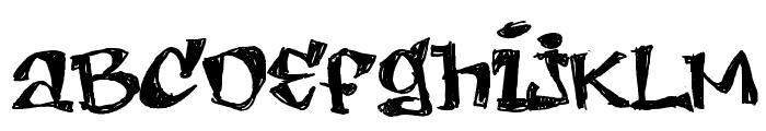 LEMON DAY  SemiBold Font UPPERCASE