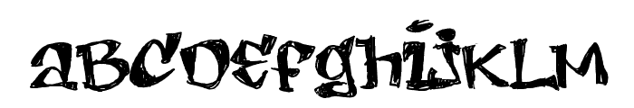 LEMON DAY  SemiBold Font LOWERCASE