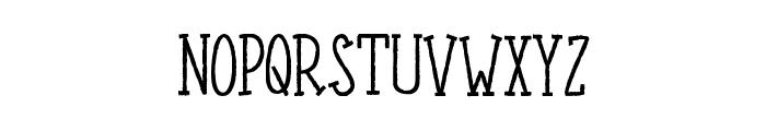 LEPRINCESURLEMOUTON Font UPPERCASE