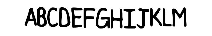 LESLIE Font UPPERCASE