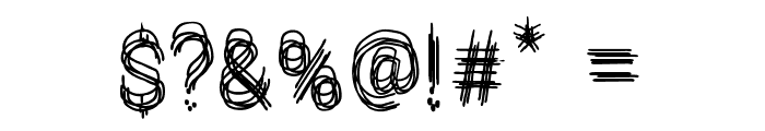 Le Petit Chaos Font OTHER CHARS