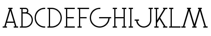 Le Super Serif Font UPPERCASE