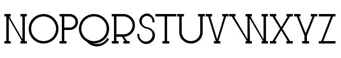 Le Super Serif Font LOWERCASE