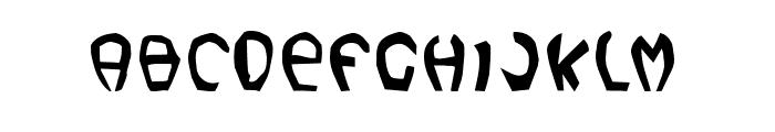 LeBob Font UPPERCASE