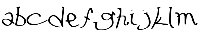 LeFuturAttendra Font LOWERCASE