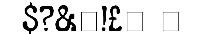 LeGolf Font OTHER CHARS