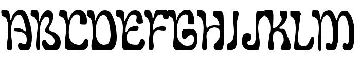 LeGolf Font UPPERCASE