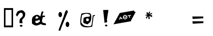 LeVincent Font OTHER CHARS