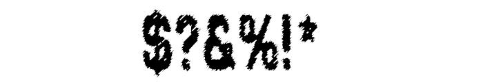 Lead Coat Font OTHER CHARS