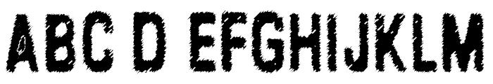 Lead Coat Font UPPERCASE
