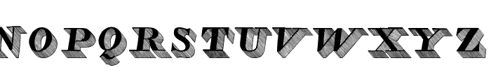 Lead Font UPPERCASE