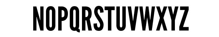 League Gothic Font UPPERCASE