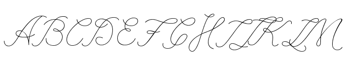 League Script Thin League Script Font UPPERCASE