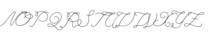 League Script Font UPPERCASE