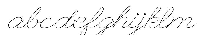 League Script Font LOWERCASE