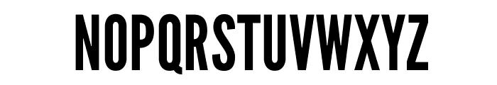LeagueGothic-Regular Font UPPERCASE