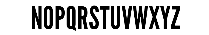 LeagueGothic Font UPPERCASE