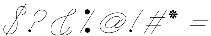 LeagueScriptThin-LeagueScript Font OTHER CHARS