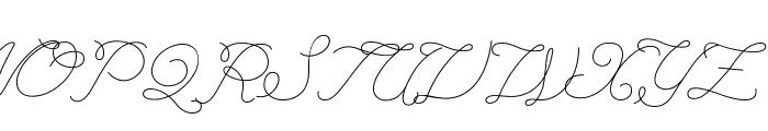 LeagueScriptThin-LeagueScript Font UPPERCASE