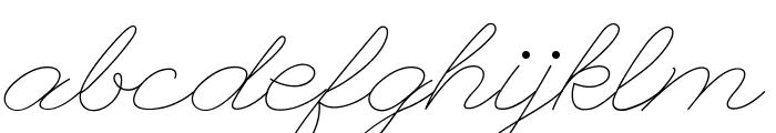 LeagueScriptThin-LeagueScript Font LOWERCASE