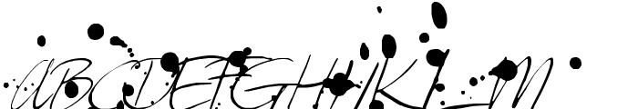 Leakage Font UPPERCASE