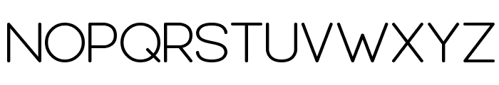 Leal regular Font UPPERCASE