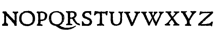 Leander Font UPPERCASE