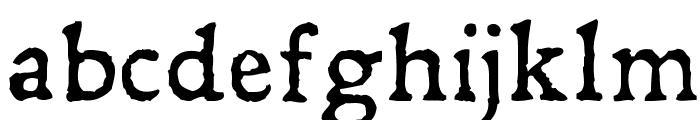 Leander Font LOWERCASE