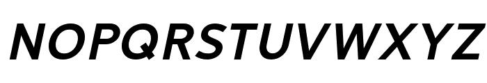 LearnShareColaborate-BoldItalic Font UPPERCASE