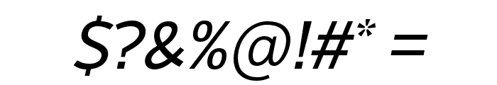 LearnShareColaborate-Italic Font OTHER CHARS