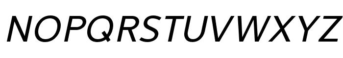 LearnShareColaborate-Italic Font UPPERCASE