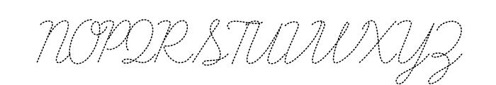 LearningCurveDashedPro Font UPPERCASE