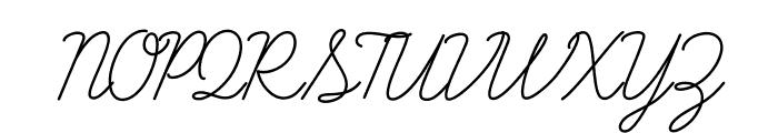 LearningCurvePro Font UPPERCASE