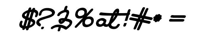 LearningMachineItalic Font OTHER CHARS
