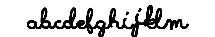 LearningMachine Font LOWERCASE