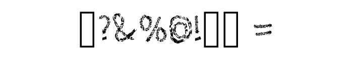 Leather Font Regular Font OTHER CHARS