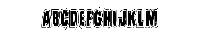 Leatherface Academy Font UPPERCASE