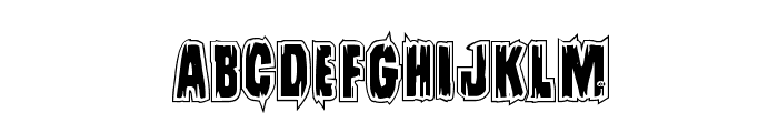 Leatherface Academy Font LOWERCASE