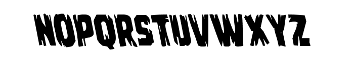Leatherface Leftalic Font UPPERCASE